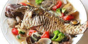 地魚のアクアパッツァ
