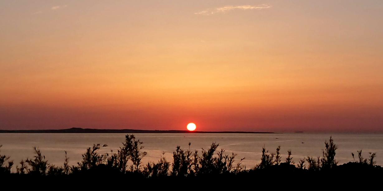 種子島の夕日